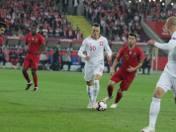 11102018 chorzow mecz reprezentacji polska portugalia na stadion slaski nz piotr zielinskiarkadiusz gola   polska press