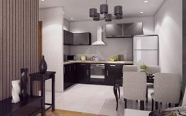 Trzypokojowe mieszkanie będzie w pełni wykończone i kompleksowo wyposażone w meble oraz sprzęt AGD i RTV