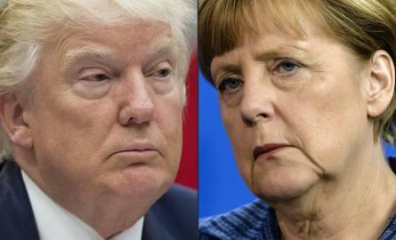 Znalezione obrazy dla zapytania Memy-Trump i Merkel