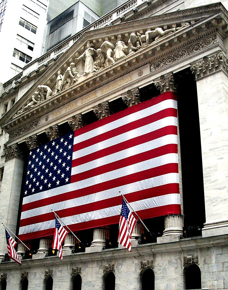 Budynek New York Stock Exchange