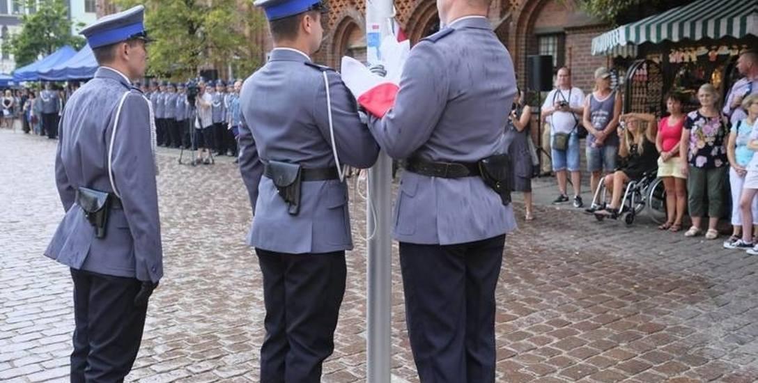 Do opisywanych wydarzeń miało dojść w ubiegły wtorek tuż po toruńskich obchodach Święta Policji