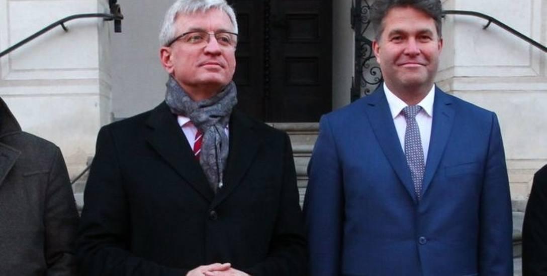 Prezydent Poznania Jacek Jaśkowiak i jego zastępca Maciej Wudarski wywodzą się z ruchów miejskich