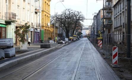 Remont ulicy Kopernika w Łodzi. Ruch samochodowy wróci po 15 grudnia [ZDJĘCIA]