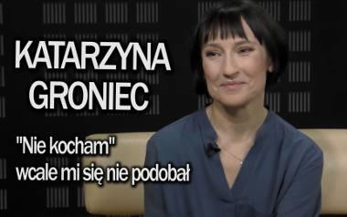 """MUZOtok. Rozmowa z Katarzyną Groniec m.in. o jej najnowszej płycie """"Ach!"""" Na krążku artystki jest hit """"Nie kocham"""" [VIDEO]"""