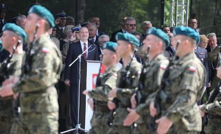Przysięga Wojsk Obrony Terytorialnej w Białymstoku