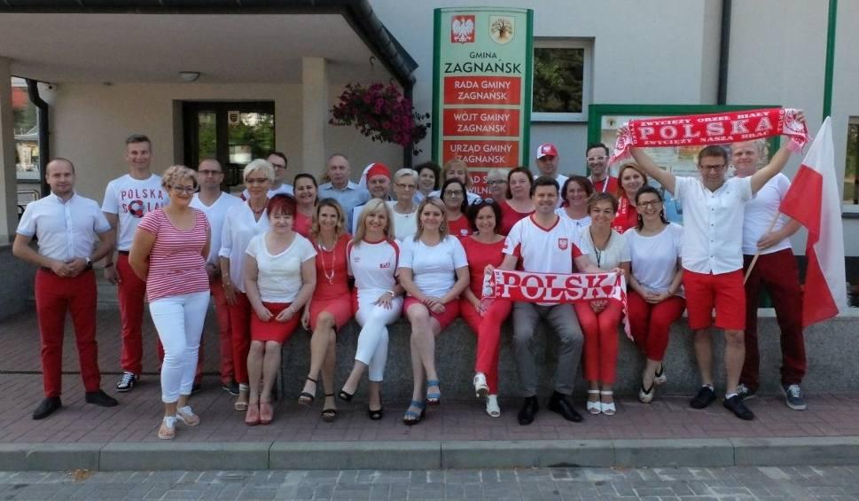 Film do artykułu: Wójt i gmina Zagnańsk kibicują polskiej reprezentacji