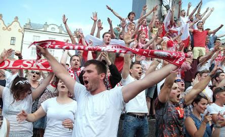 Polska w ćwierćfinale Euro. Wielka feta na Rynku [ZDJĘCIA]