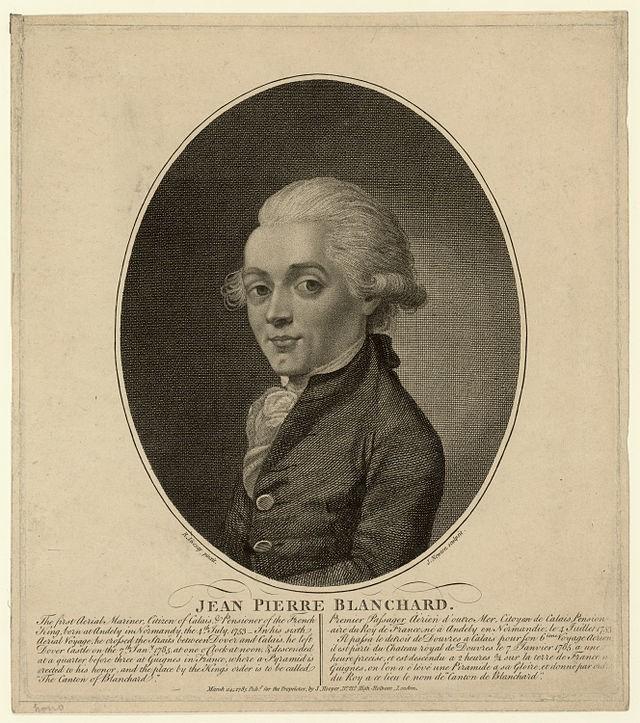 Portret Jean-Pierre Blanchard