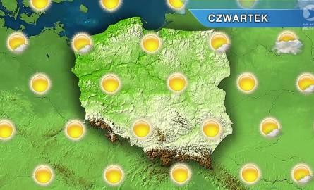 Pogoda: Początek roku szkolnego ciepły i słoneczny