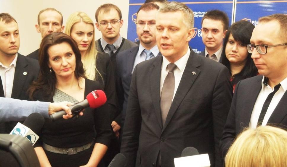 Film do artykułu: Tomasz Siemoniak w Kielcach zabiegał o poparcie w wyścigu o fotel szefa Platformy Obywatelskiej