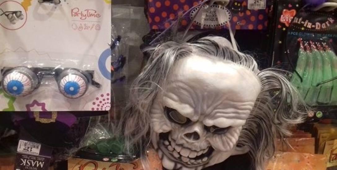 Upiorne maski, zakrwawione oczy, kapelusze z pajęczyną, czyli zbliża się halloween