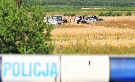 W miejscu znalezienia ciała zamordowanej 11-latki