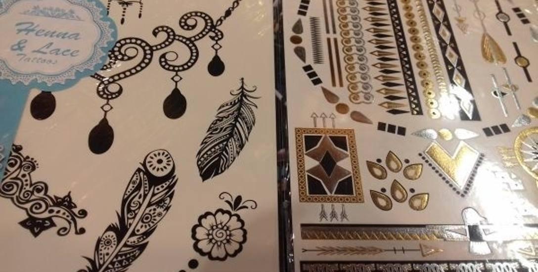 Dla tych, co boją się igły - tatuaż jak biżuteria, czyli jednorazowa ozdoba skóry z kalkomanii