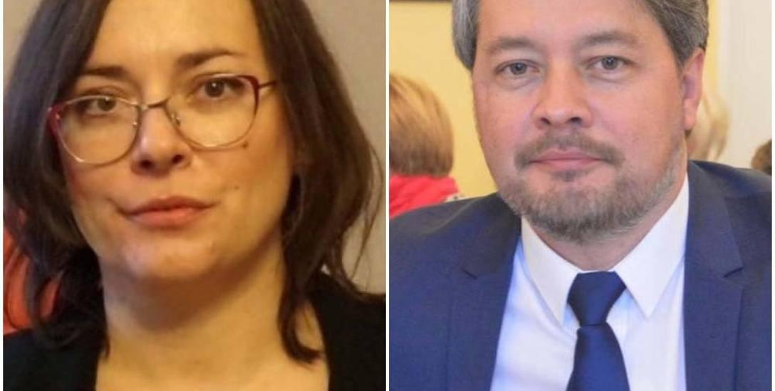 Adrianna Kaczora i Jacek Wiśniewski