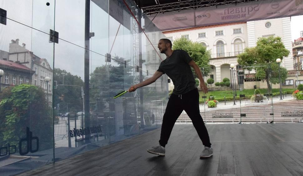Film do artykułu: Bielsko-Biała: Squash na Chrobrym, czyli każdy może zagrać, a niebawem Polska kontra Reszta Świata