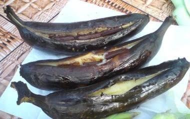 Grillowane banany.