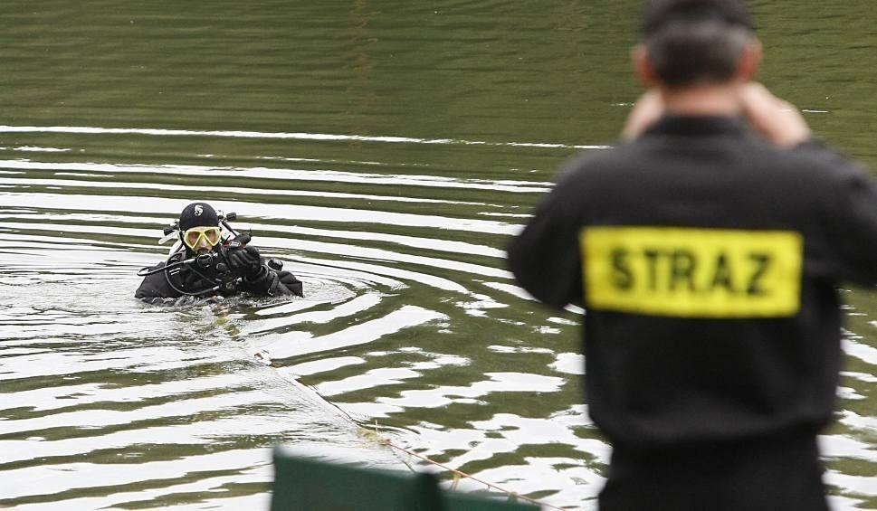 Film do artykułu: W jeziorze Stary Staw utopiła się 42-letnia kobieta