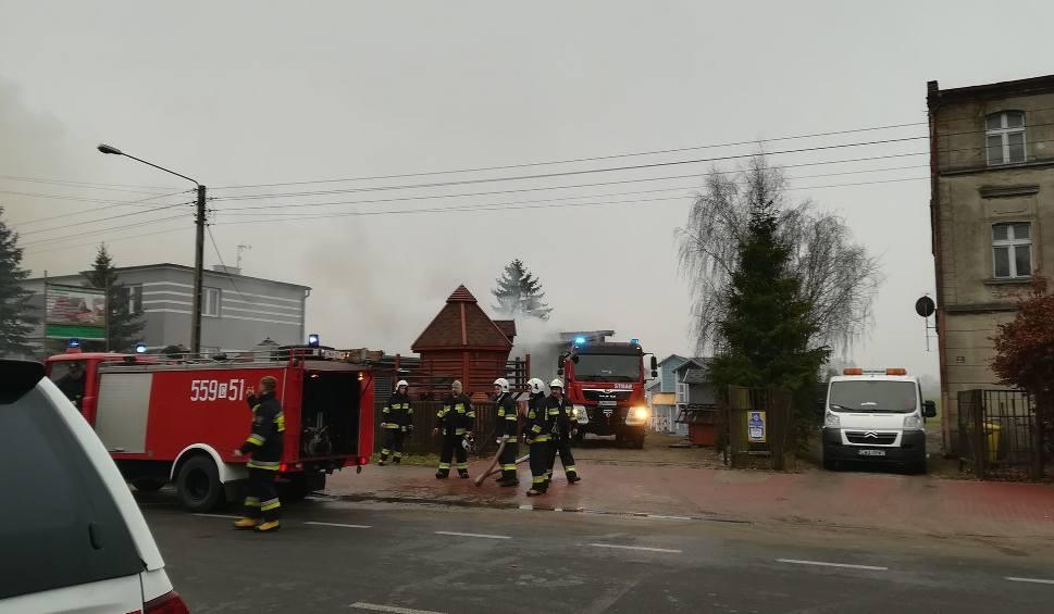 Film do artykułu: Duży pożar w Wąbrzeźnie. W akcji 16 zastępów straży [zdjęcia, wideo]