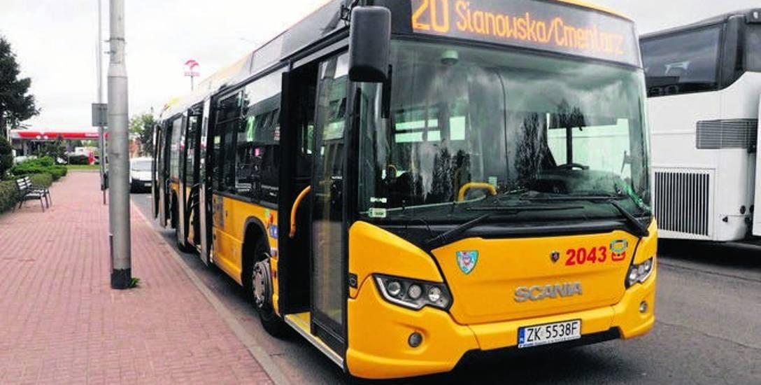 MZK Koszalin. Autobus nr 20 zacznie zaraz kursować, ale nie po ul. Zielonej i Jabłoniowej