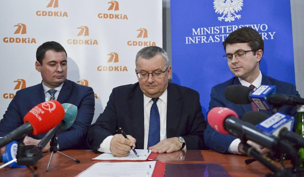 Film do artykułu: Minister Infrastruktury Andrzej Adamczyk w Słupsku zapowiada całą drogę S6 [zdjęcia, wideo]