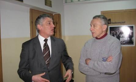 Podobnie dyrektor Romuald Lis- z lewej