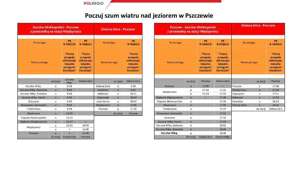 Film do artykułu: Rozkład jazdy w relacji Zielona Góra - Pszczew