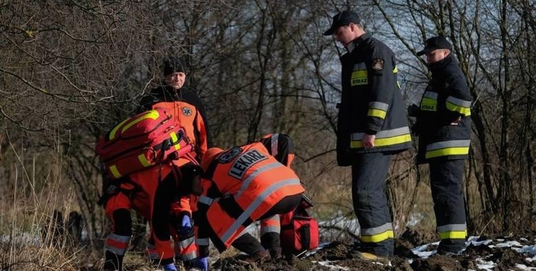 Ciało 82-latki znaleziono w czwartek przy ul. Przerwa w Przemyślu.