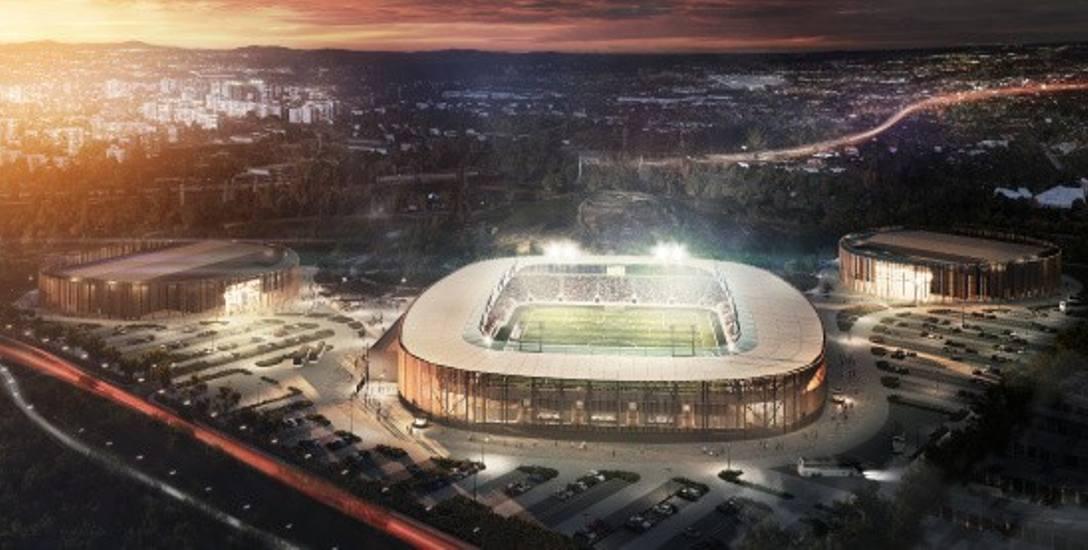 Tak, według projektantów z biura JSK Architekci, ma wyglądać nowy, sosnowiecki stadion