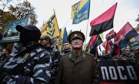 Ulicami Kijowa przeszedł Marsz Chwały UPA [ZDJĘCIA] [VIDEO]