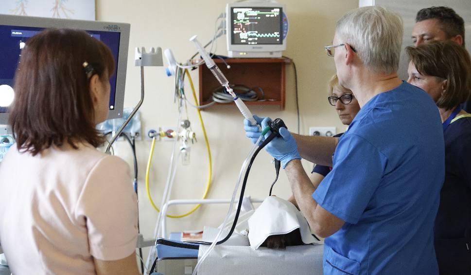 Film do artykułu: EBUS w Szpitalu Wojewódzkim w Opolu. Takiej możliwości diagnostyki Opolanie dotąd nie mieli