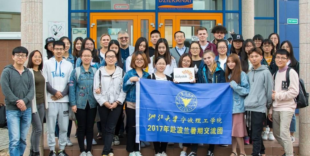 Politechnika Białostocka wymienia studentów z Chinami