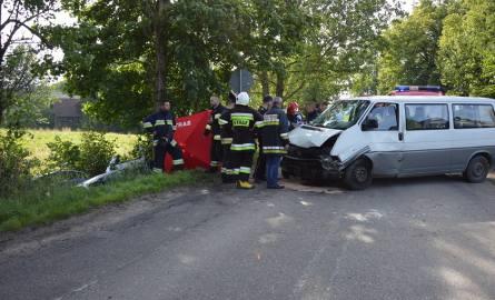 Wypadek w Mojuszu 22.07.2017