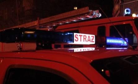 Duży pożar w Lipowej pod Nysą. Spłonęło 5 ciągników siodłowych. Straty: 2 miliony złotych!