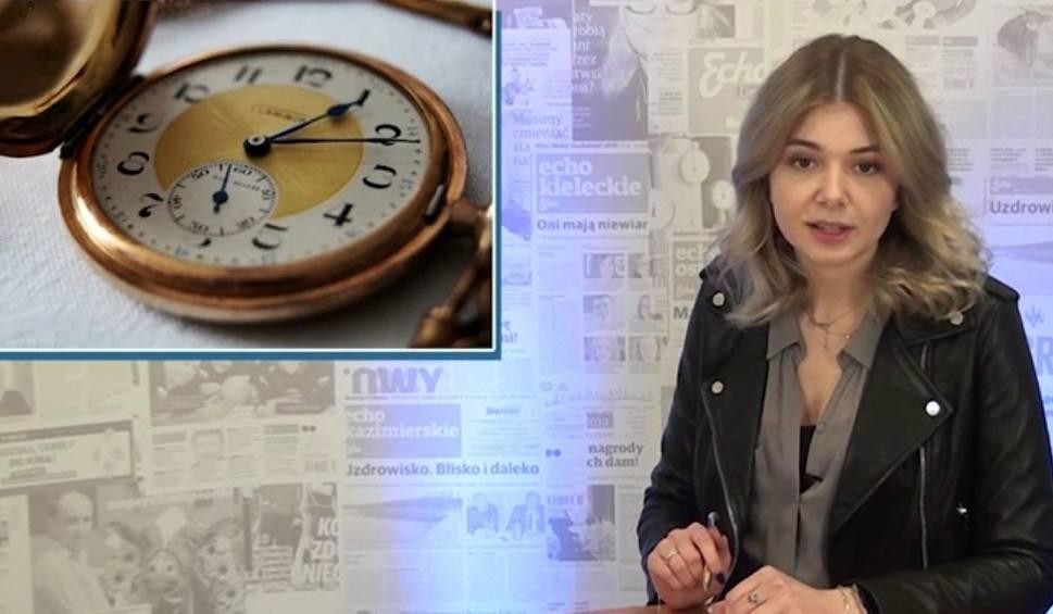 Film do artykułu: [Wiadomości Echa Dnia] Tajemnice zmiany czasu