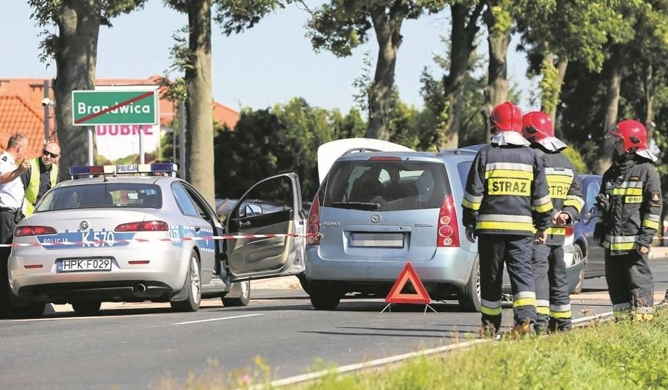 Film do artykułu: Czworo rannych po zderzeniu w Brandwicy
