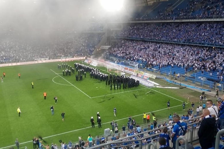 Jak zakończył się ostatni mecz Lech - Legia w Poznaniu?