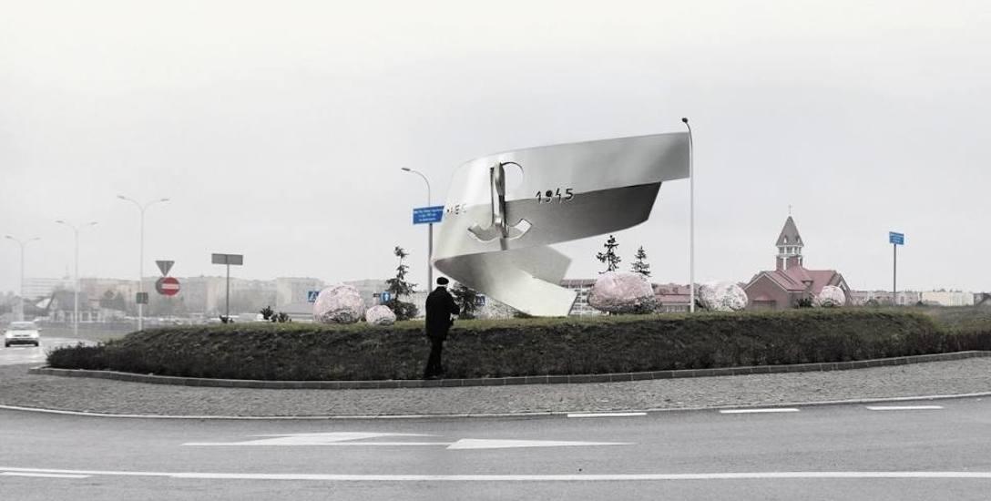 Pomnik pamięci ofiar Obławy Augustowskiej. Ten pomnik ma krzyczeć. Drugi - będzie do zniczy