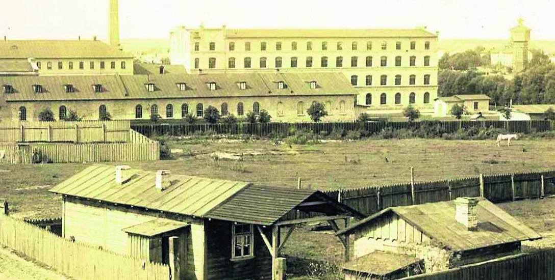 Fabryka Rudolfa Commichau i jego synów na zdjęciu Józefa Sołowiejczyka z 1897 r. (źródło: Muzeum Podlaskie w Białymstoku).