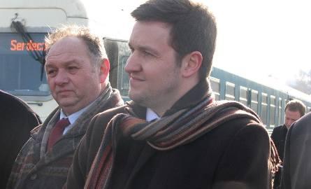 Fabien Courtellemont, dyrektor zarządzający toruńskiego oddziału spółki Arriva PCC przekonał się w Gardei, jak bardzo ten pociąg jest potrzebny