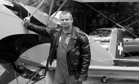 Zmarł Jacek Osiński, znany pilot szybowcowy i samolotowy z Aeroklubu Radomskiego. Kiedy pogrzeb?