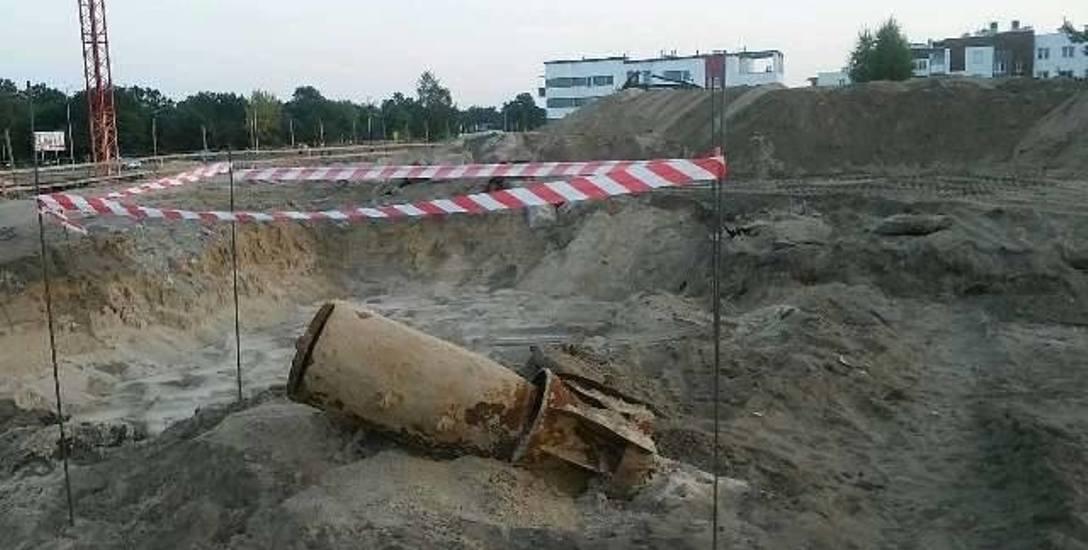 250 Kilogramów miała bomba lotnicza radzieckiej produkcji znaleziona na budowie TTBS- u