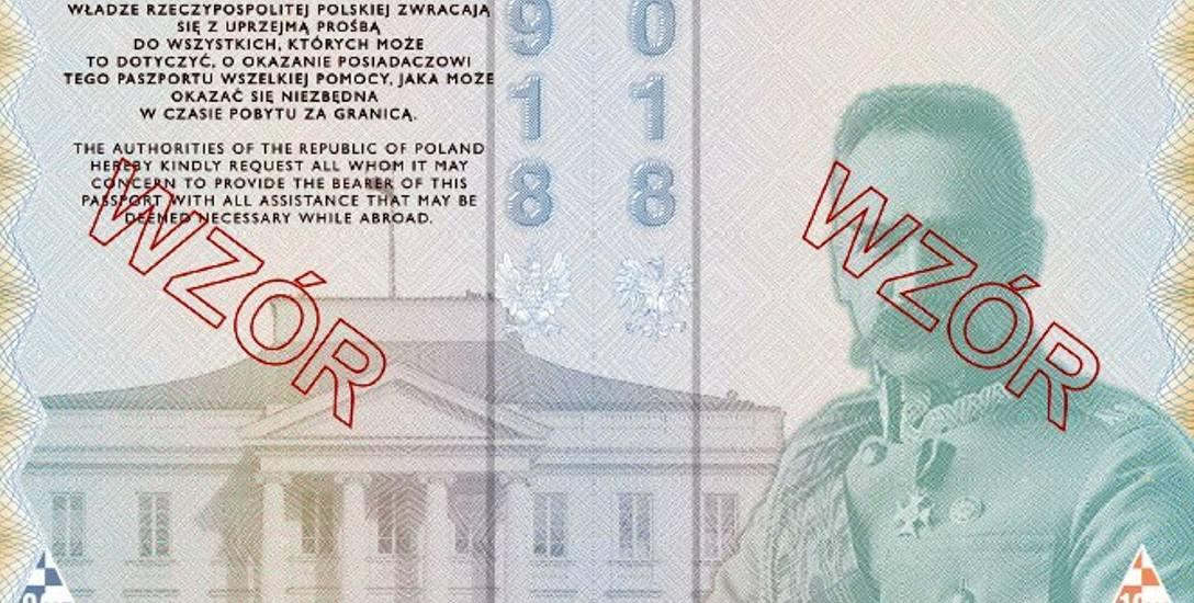 Nowy paszport z motywami niepodległościowymi ma być bezpieczniejszy
