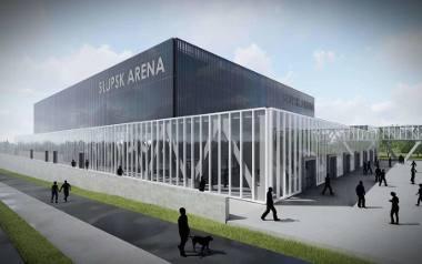 Wizualizacja hali sportowo-widowiskowej w Słupsku.