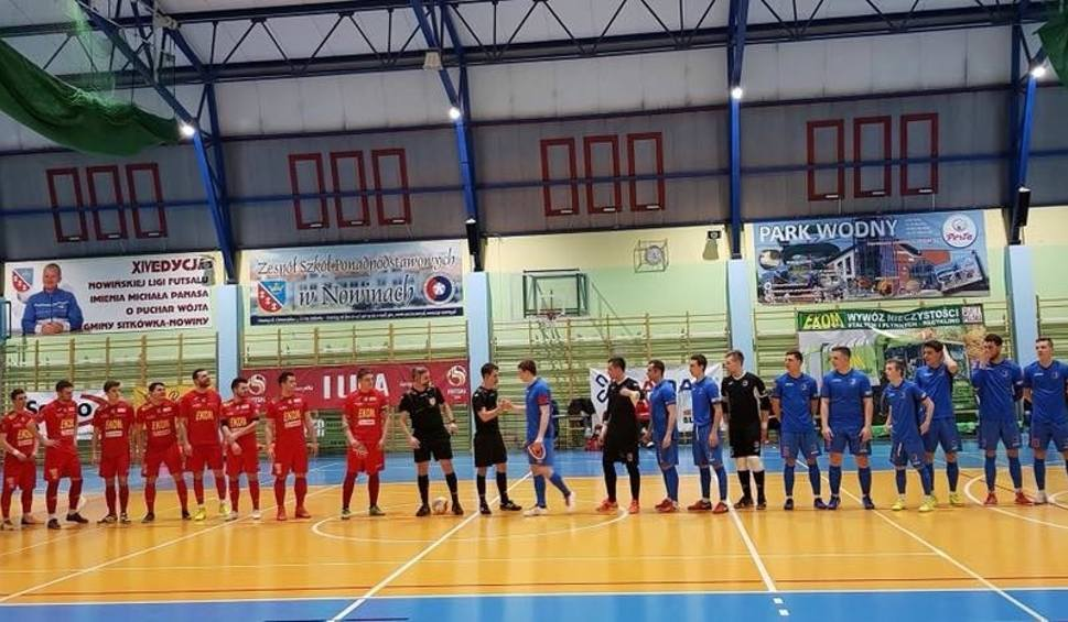 Film do artykułu: Pierwsza liga futsalu. Pokonali lidera. Teraz zespół z Nowin czeka mecz z GKS Tychy