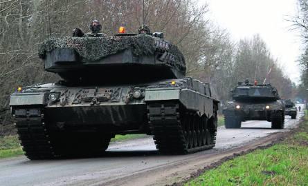 Wojsko na ulicach Biedruska nie jest nadzwyczajnym widokiem