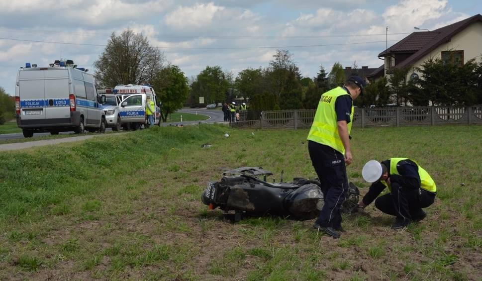 Film do artykułu: Lisewo: Śmiertelny wypadek motocyklisty - to mogła być wina silnego wiatru [ZDJĘCIA]