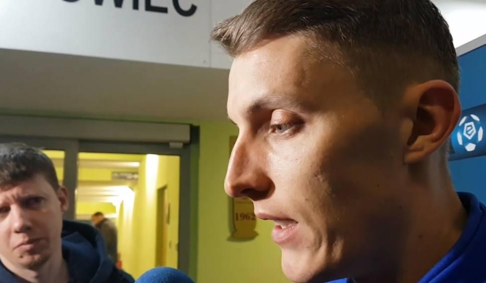 Film do artykułu: Damian Zbozień, piłkarz Arki Gdynia: Musimy się trzymać razem [wideo]