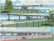 Zdjęcie do artykułu: Stadion Startu w Lublinie do przebudowy. Finał prac latem przyszłego roku (WIZUALIZACJE)