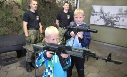 Wojskowy Piknik Rodzinny w Zabrzu odbył się na terenie Parku Techniki Wojskowej