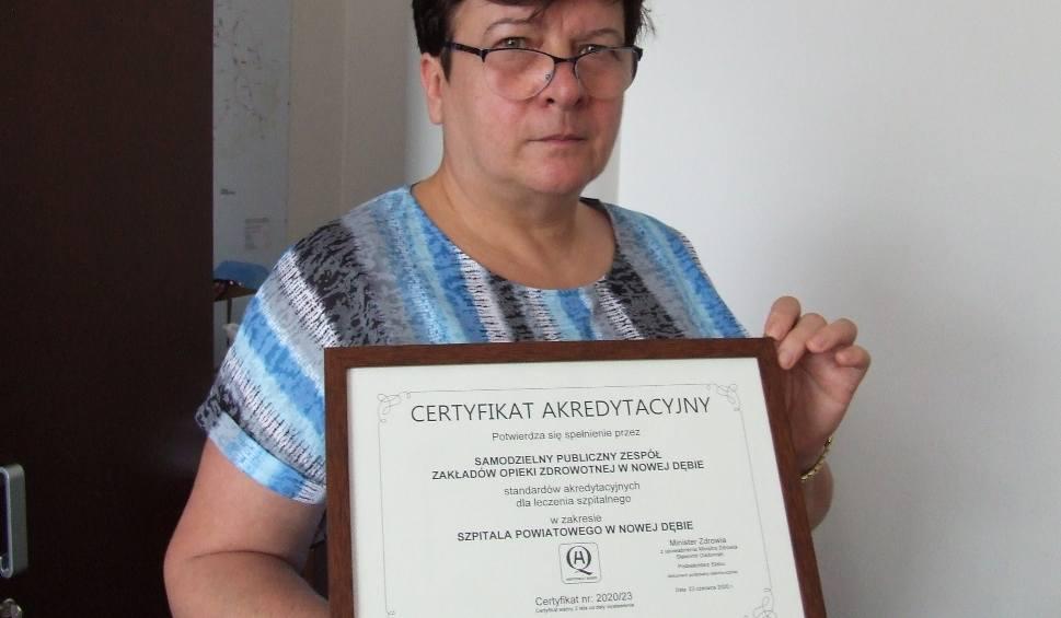 Film do artykułu: Certyfikat akredytacyjny dla Szpitala Powiatowego w Nowej Dębie